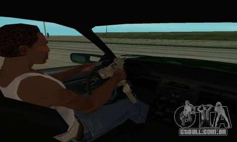Nissan Skyline R34 Sunray (FlatOut 2) para GTA San Andreas vista traseira