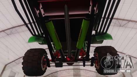 Mudmonster para GTA San Andreas vista traseira