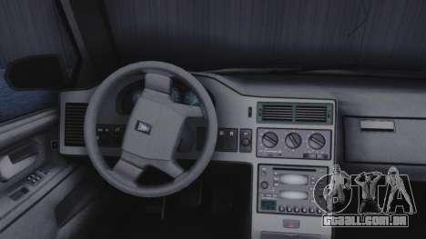 GTA 5 Vulcar Ingot IVF para GTA San Andreas vista traseira
