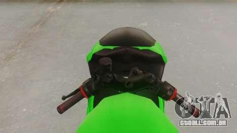 Bajaj Pulsar 200FS para GTA San Andreas vista traseira
