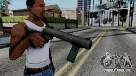 Vice City Beta Grenade Launcher para GTA San Andreas terceira tela