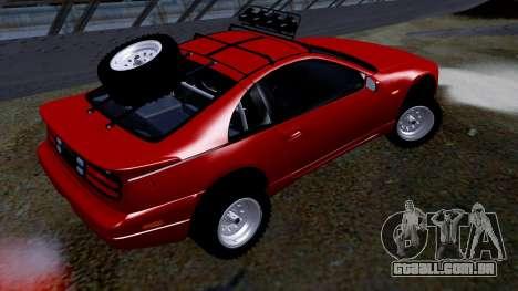 Nissan 300ZX Rusty Rebel para GTA San Andreas esquerda vista