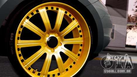 Hyundai Santa Fe para GTA San Andreas traseira esquerda vista