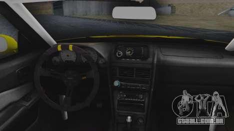 Nissan Skyline R34 Rusty Rebel para GTA San Andreas vista traseira