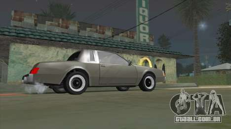 Willard Majestic para GTA San Andreas esquerda vista