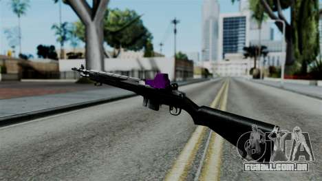 Purple Rifle para GTA San Andreas segunda tela