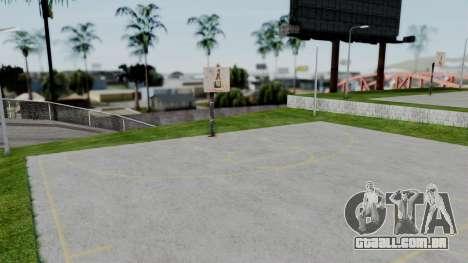 New Basketball Court para GTA San Andreas segunda tela