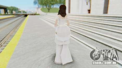 Lin Chi-Ling Bride Outfit para GTA San Andreas terceira tela