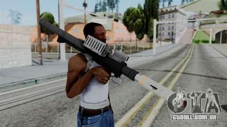 GTA 5 Homing Launcher - Misterix 4 Weapons para GTA San Andreas terceira tela