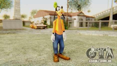 Kingdom Hearts 2 Goofy para GTA San Andreas segunda tela