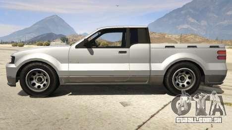 GTA 5 GTA 4 Contender vista lateral esquerda
