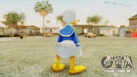 Kingdom Hearts 2 Donald Duck v2 para GTA San Andreas terceira tela