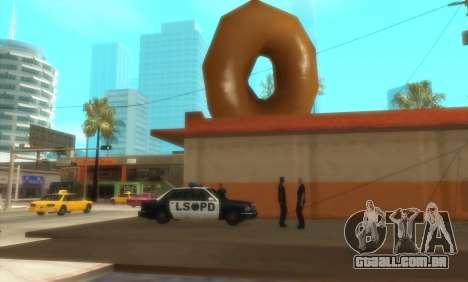 Polícia C. R. A. S. H para GTA San Andreas