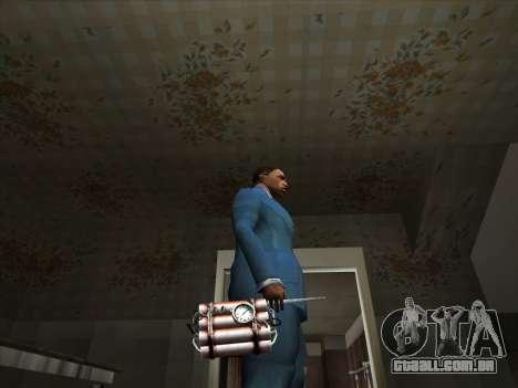 Um conjunto de armas russas para GTA San Andreas