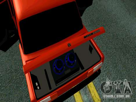 VAZ 2107 Rang Rover Edition para GTA San Andreas vista traseira
