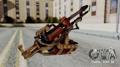 Fallout 4 - Flamethrower para GTA San Andreas segunda tela