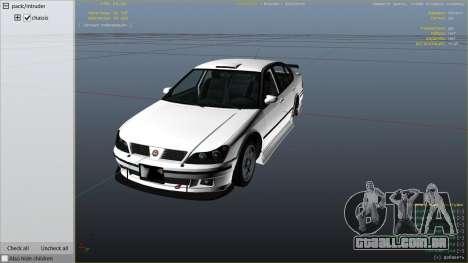 GTA 5 GTA 4 Lokus vista lateral direita