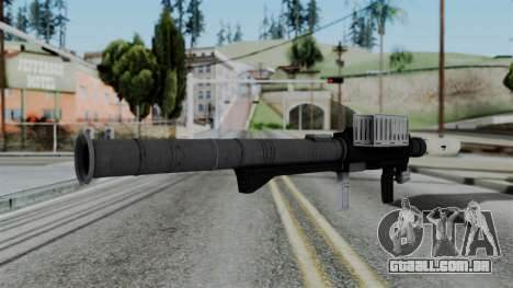 GTA 5 Homing Launcher - Misterix 4 Weapons para GTA San Andreas segunda tela
