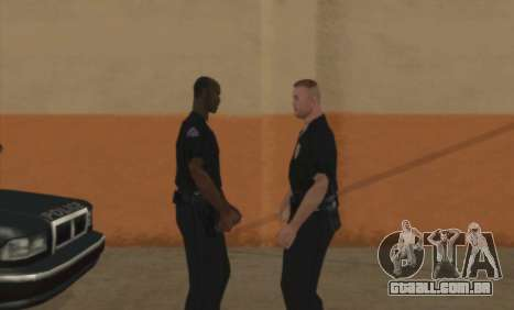 Polícia C. R. A. S. H para GTA San Andreas segunda tela