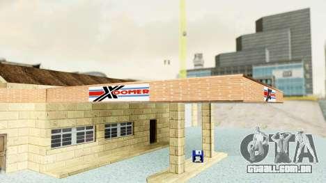 HD Doherty Garage para GTA San Andreas por diante tela