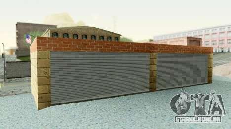 HD Doherty Garage para GTA San Andreas terceira tela