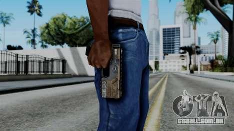 CoD Black Ops 2 - KAP-40 para GTA San Andreas terceira tela