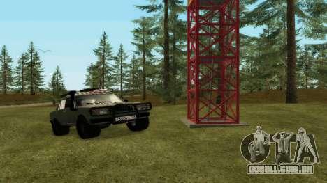 VAZ 2107 4x4 para GTA San Andreas