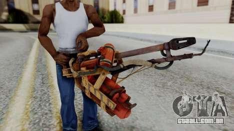 Fallout 4 - Flamethrower para GTA San Andreas terceira tela