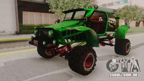 Mudmonster para GTA San Andreas
