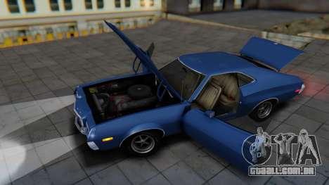 Ford Gran Torino Sport SportsRoof (63R) 1972 IVF para GTA San Andreas vista direita