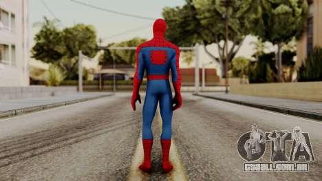 Marvel Heroes - Spider-Man Classic para GTA San Andreas terceira tela