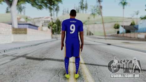 Jamie Vardy - Leicester City 2015-16 para GTA San Andreas terceira tela