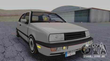 Volkswagen Golf Mk3 para GTA San Andreas traseira esquerda vista