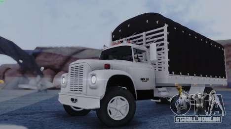 International Loadstar para GTA San Andreas traseira esquerda vista