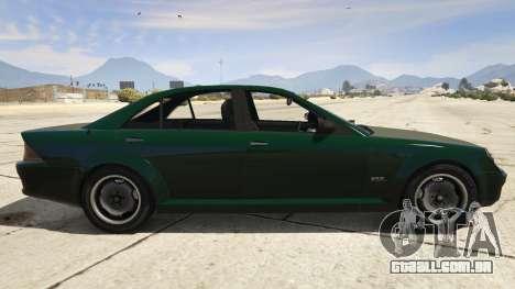 GTA 5 GTA 4 Schafter vista lateral esquerda
