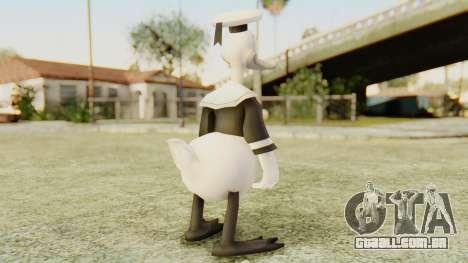 Kingdom Hearts 2 Donald Duck Timeless River v1 para GTA San Andreas terceira tela