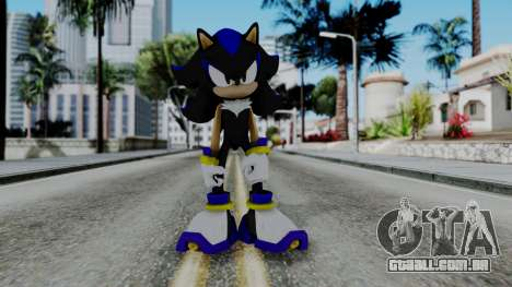 The Hedgehog para GTA San Andreas segunda tela