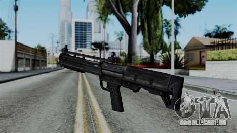 CoD Black Ops 2 - KSG para GTA San Andreas segunda tela