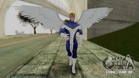 Marvel Heroes - Angel para GTA San Andreas segunda tela