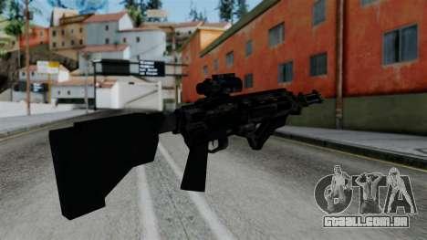 CoD Black Ops 2 - Storm PSR para GTA San Andreas segunda tela