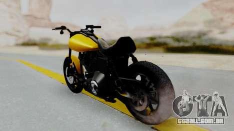 Harley-Davidson Dyna Super Glide T-Sport 1999 para GTA San Andreas esquerda vista
