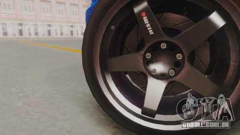 Nissan Skyline GT-R 2005 Z-Tune para GTA San Andreas traseira esquerda vista