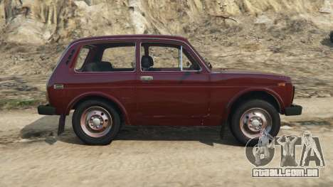 GTA 5 VAZ-2121 vista lateral esquerda