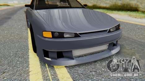 Nissan Silvia S14 para GTA San Andreas vista superior