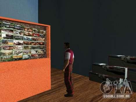 Loja da Tommy Vercetti para GTA Vice City terceira tela