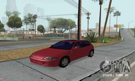 Honda Civic EG6 Tunable para GTA San Andreas