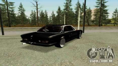 BMW 3.0 CSL JDM Style para GTA San Andreas vista direita