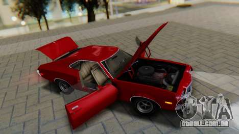 Ford Gran Torino Sport SportsRoof (63R) 1972 PJ1 para GTA San Andreas vista traseira