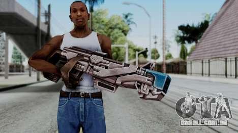 Marvel Future Fight - Rocket Raccon Rifle para GTA San Andreas terceira tela