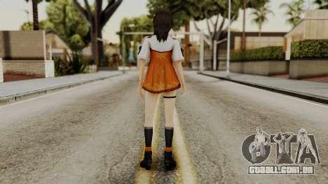 Fatal Frame 5 Yuri para GTA San Andreas terceira tela